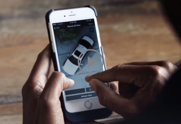 Новата Серия 5 на BMW идва с Remote 3D функция. Да си я гледате през телефона, независимо къде сте. Видео