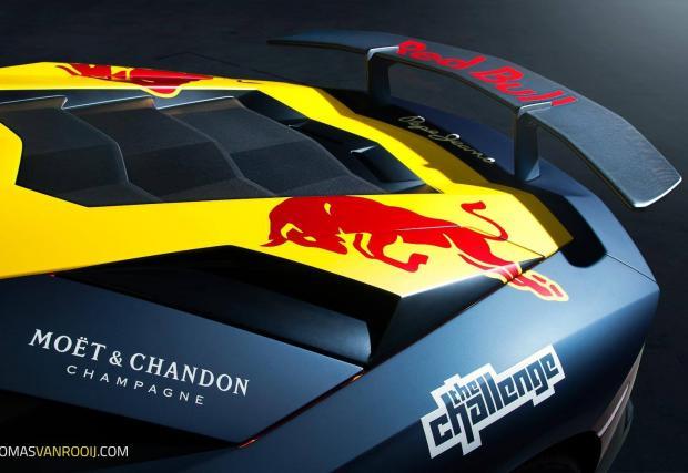 "Бик с бикове: Lamborghini Aventador SV ""Max Verstappen F1"""