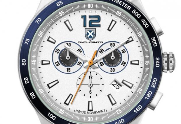 Времето е пари: Omologato Écurie Ecosse Chronograph, часовник със състезателно минало