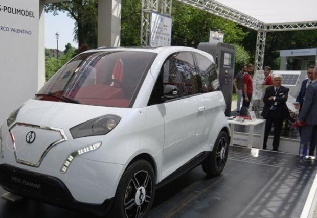 Harmony: първата българска електрическа кола изглежда доста... спорно