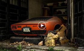 Събуждането на едно Lambo Miura P400, след 25 годишен сън. Емоционална история... Подробна галерия и видео