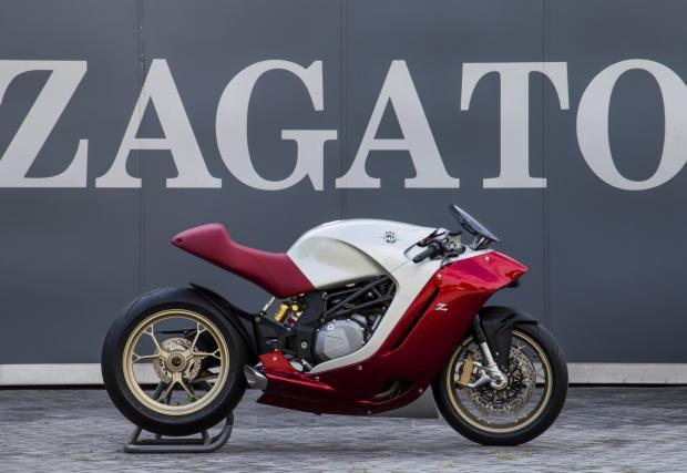 Още снимки инофо за MV Agusta F4Z, първият мотоциклет на Zagato