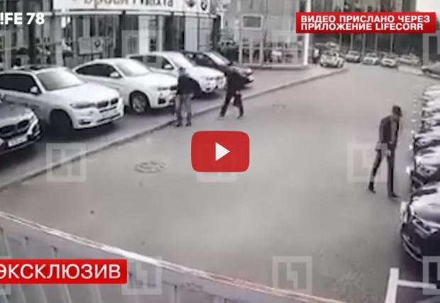 Как се крадат четири нови BMW-та. От шоурума. Видео