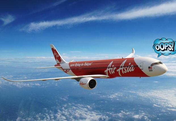 Пилот на AirAsia объркал дестинацията на полета. Разходил пътниците 6000 км, в грешната посока...
