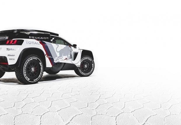 """Peugeot 3008 DKR. Новата машина на французите за """"Дакар"""" е бру-тал-на!"""