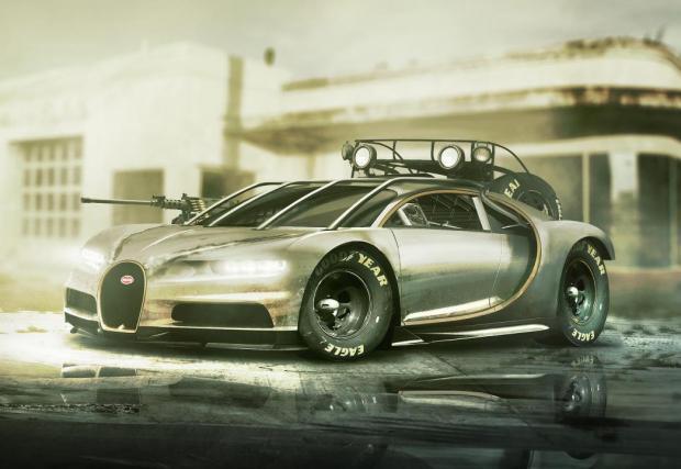 Bugatti Chiron и компания, готови за апокалипсиса. Респектираща галерия