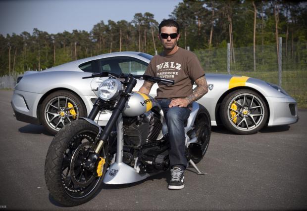 Чопър с дъх на Ferrari 599 GTO