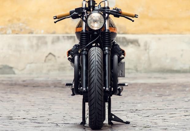 Guzzi за чудо и приказ, от Краков, Полша: Ventus Garage Moto Guzzi V65