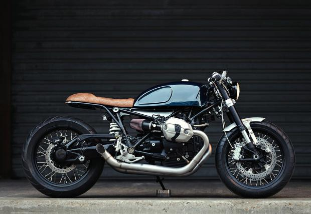 Построен в Берлин, преработен в Париж: Clutch Custom Motorcycles BMW R nineT