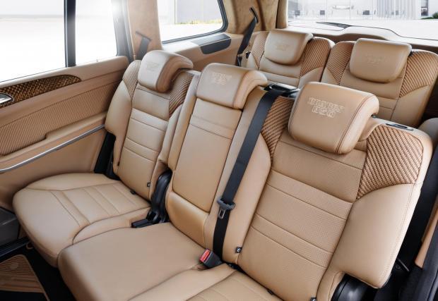 """БББруталният Brabus 850 XL: 5,2-метровият """"автобус"""", с който 7 човека се возят с 300 км/ч"""