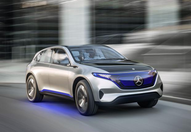 Mercedes-Benz Generation EQ: 400 електрически коня и до 500 км с едно зареждане. Първият от серията