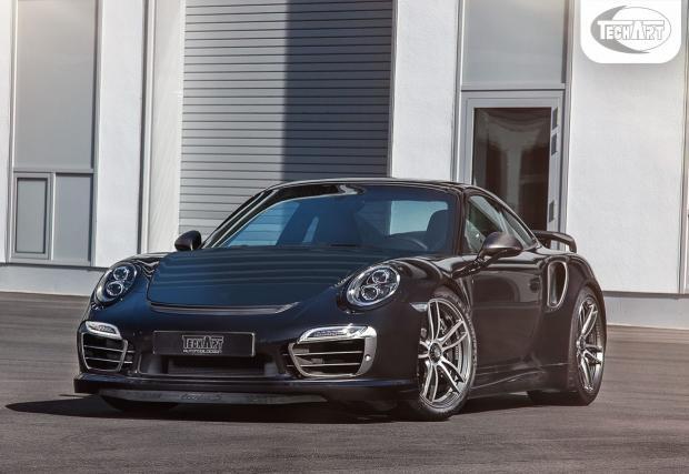 TechArt изостриха и най-новото Porsche 911. Модификациите са доста приятни