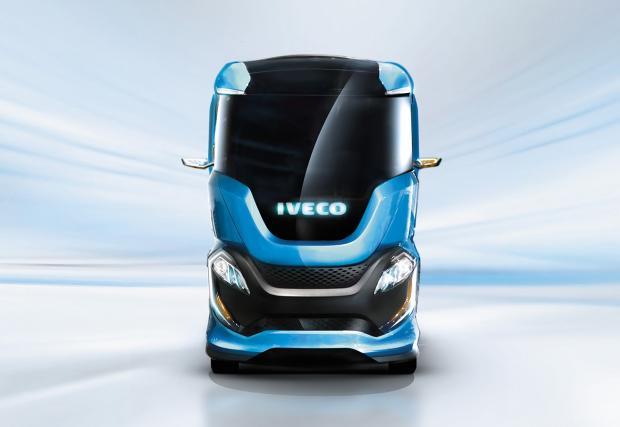 Ако извънземните караха камиони: Iveco Z Concept Truck. Видео