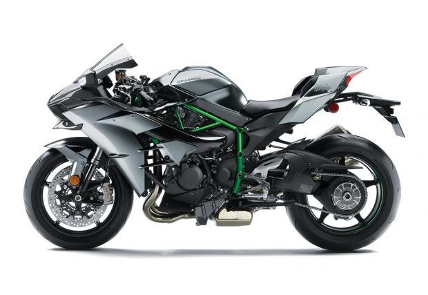 Kawasaki карбонизираха и без това бруталната компресорна Ninja: Kawasaki Ninja H2 Crbon