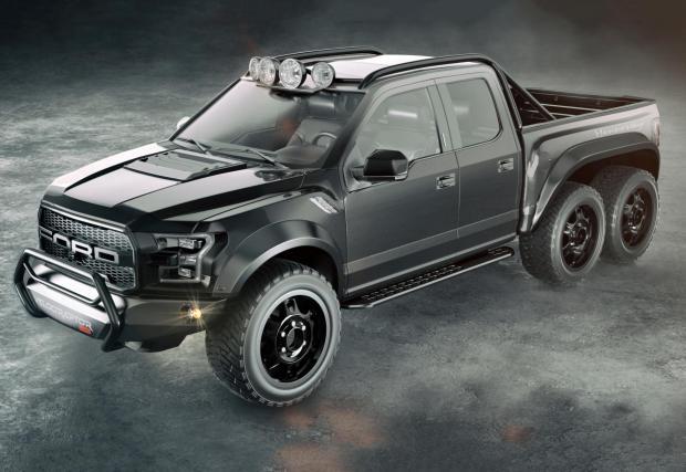 Тексасците сигурно са полудели. Подготвят 600-конно 6x6 чудовище: Hennessey VelociRaptor 600 Twin Turbo