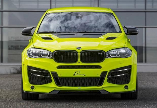 Lumma Design облече BMW X6 М в светлоотразителна жилетка. И го напомпа до 750 коня