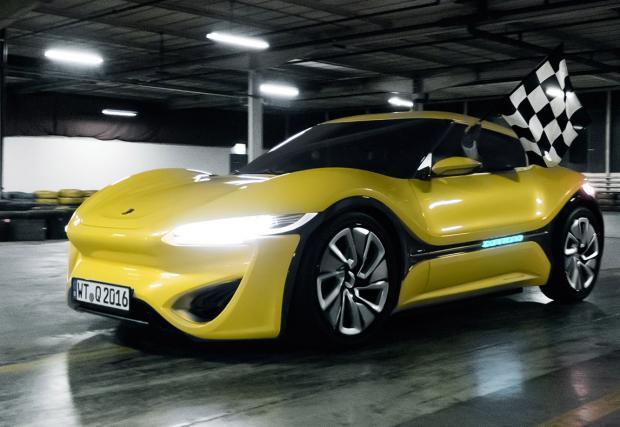 Quantino: колата, която се движи на... солена вода. И минава 1100 км с едно зареждане