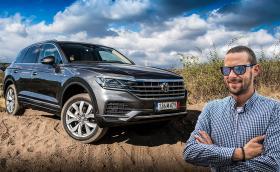 Тествахме новия VW Touareg: офроуд и на пътя. Видео!