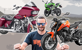 Ден за мотори: карахме KTM, Kawasaki и Harley! Видео