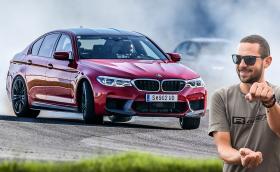 Тестваме новото BMW M5 на писта! Видео