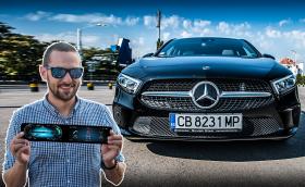 Караме най-новия Mercedes-Benz A-Class: 'Predator Face' и MBUX система разработена в България. Видео!