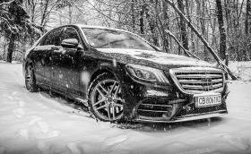 Карахме Mercedes-Benz S 560, най-новото издание на еталона в класа на луксозните лимузини. Видео