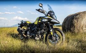 Тествахме новото Suzuki V-Strom 1000 с добавката XT. Байкът е доста приятен