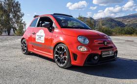 През три града с Abarth 595 Competizione и още 27 коли. Видео от подвижния автомобилен салон, в който взехме участие