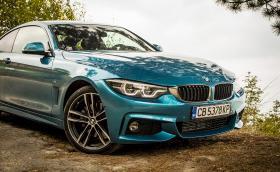 Карахме обновеното BMW Серия 4 в модификация 430d xDrive и в цвят 'Snapper Rocks Blue'. Какво е новото?