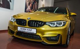Бова Кар ни посрещна с това BMW M4 Competition Package. Било употребявано, а ние не повярвахме