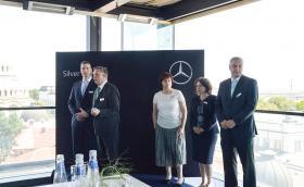 Silver Star Motors ни покани на коктейл. Новият официален представител на Mercedes-Benz за България обеща приятни неща