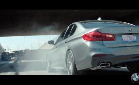 Новото BMW Серия 5 може да дърпа хеликоптер. Кара го Клайв Оуен. Видео + кратка галерия