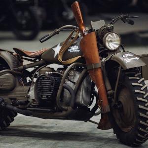 Let's ride, cowboy. 1942 Harley-Davidson XA Experimental | DizzyRiders.bg
