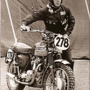 Две легенди. Стив Маккуин и Triumph | DizzyRiders.bg