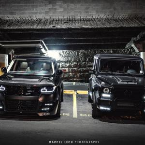 Lumma Design Range Rover Vogue и Brabus G 63 AMG. | DizzyRiders.bg