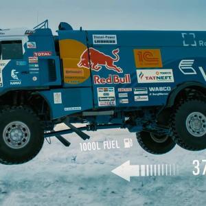 Това е 1000-литров резервоар с 1000-конен двигател, който може да прелети над 40 метра. Състезателния KAMAZ на Red Bull | DizzyRiders.bg