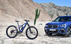Новото е-колело на BMW е дело на Specialized и върви в комплект с X3