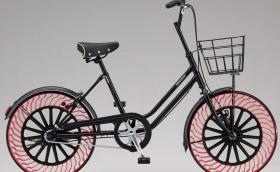 Ето ви колело с гуми, които не се помпат