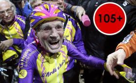 Да навъртиш 22,5 км с колело за един час, на 105 години. Г-н Маршанд е шампион. Галерия, видео и историята