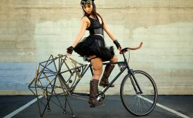 'Strandbeest Bike' е кръстоска между градски велосиед и… гигантски паяк. Галерия и видео